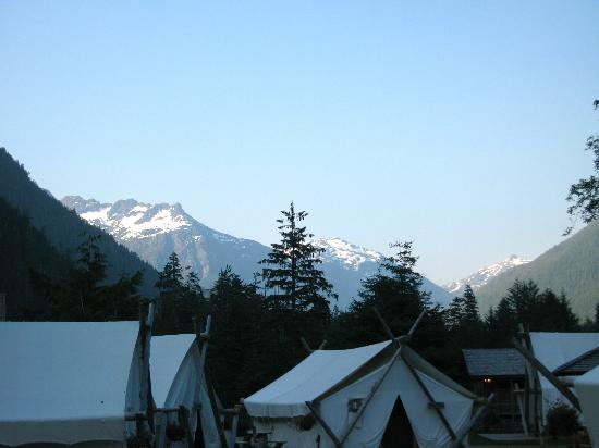 Clayoquot Wilderness Resort: Amazing scenery