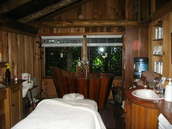 Clayoquot Wilderness Resort: Spa room