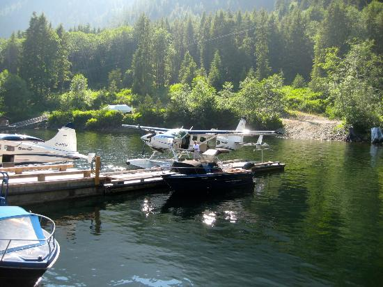 Clayoquot Wilderness Resort: Leaving