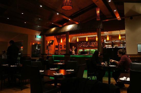 Bushmans Grill: the bar