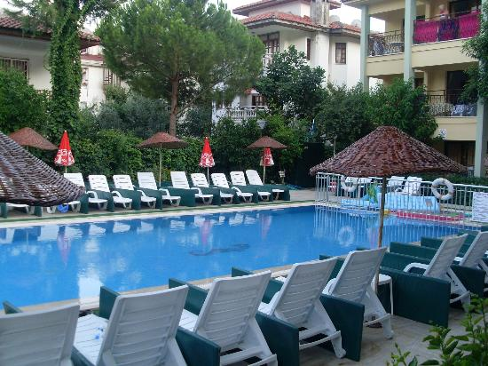 Oren Apart Hotel: Pool area