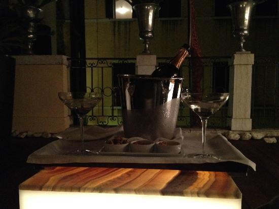 Ca' Maria Adele: Prosecco sur la terrasse