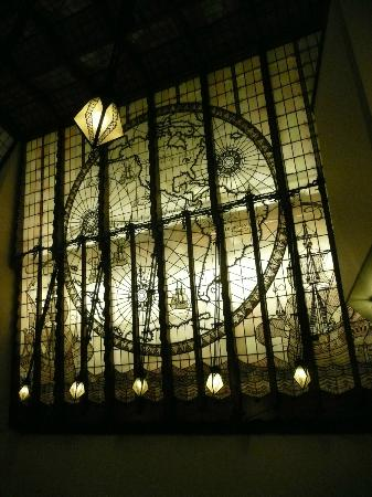 Grand Hotel Amrath Amsterdam: Vitrail intérieur