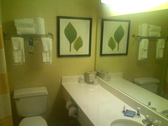 Fairfield Inn & Suites Lafayette: Bathroom