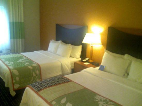 Fairfield Inn & Suites Lafayette: Beds