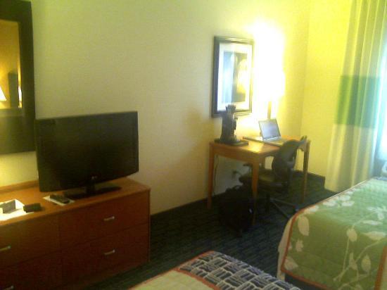 Fairfield Inn & Suites Lafayette: Desk