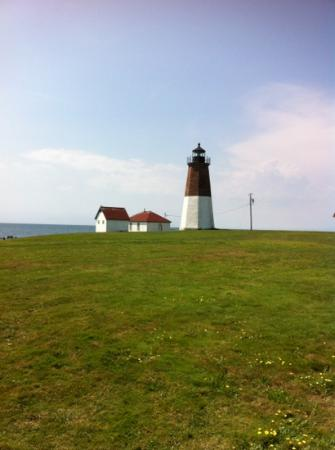 Point Judith Lighthouse: Lighthouse on a beautiful day!