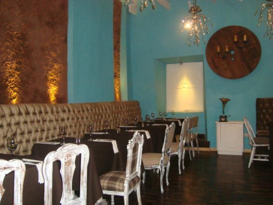 Uchu Peruvian Steakhouse: First dining room
