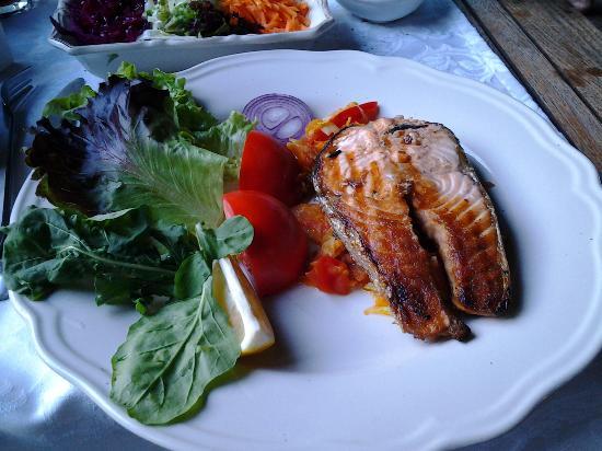 Tranquilla River Lodge: dinner
