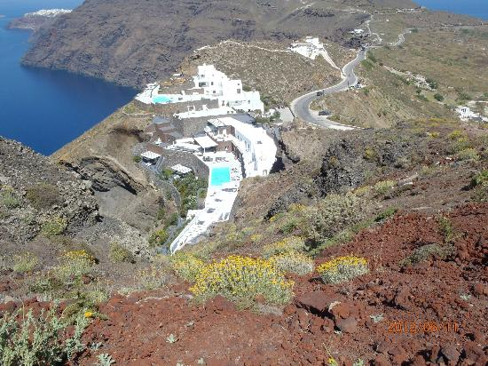 Profitis Ilias church - Picture of Hiking Trail Fira - Oia ...