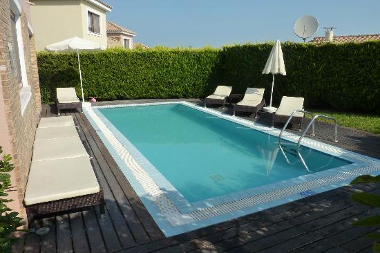 St John Villas: Violet Villa pool