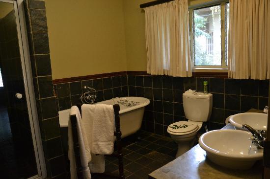 Mjejane River Lodge: Salle de bains
