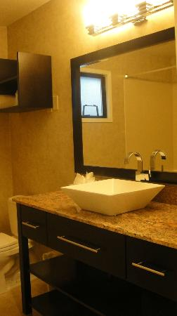 Rosedale Inn: Spacious, large and clean bathroom