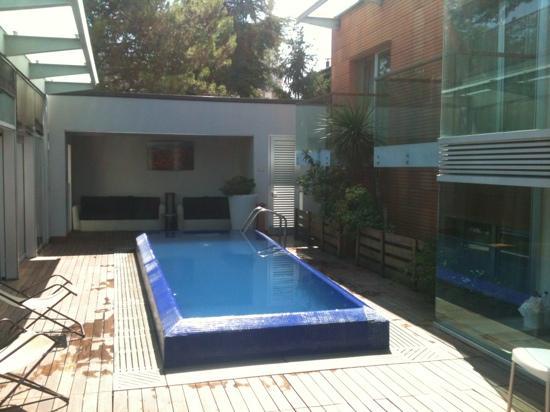 Dal Moro Gallery Hotel: area piscina