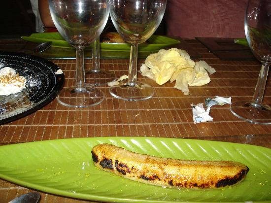 Le MAMI-WATA : Plátano flambeado