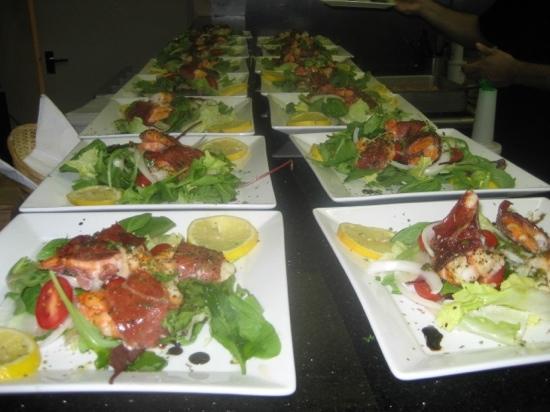 Giuliano's: mouthwatering Gamberoni