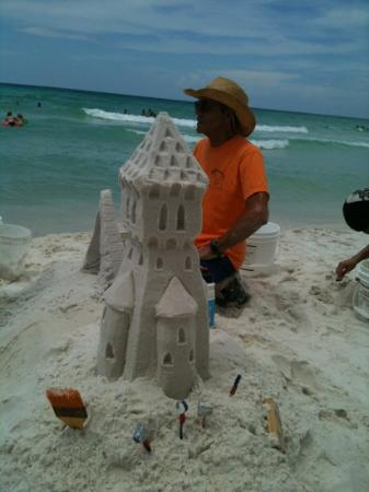 Destin Gulfgate: this is the Famous castle designer
