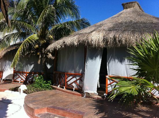 El Dorado Royale, by Karisma: Outside deck of our individual Casita room
