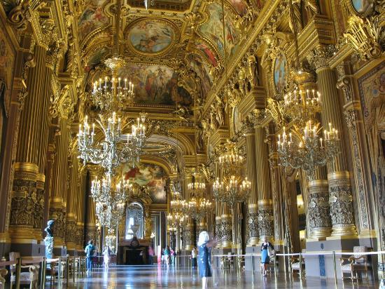 Sala degli specchi foto di opera garnier parigi - Sala degli specchi ...