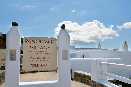 Panormos Village: parcheggio