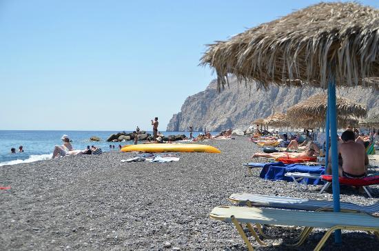 هوتل ديلينو: La spiaggi di Kamari. 