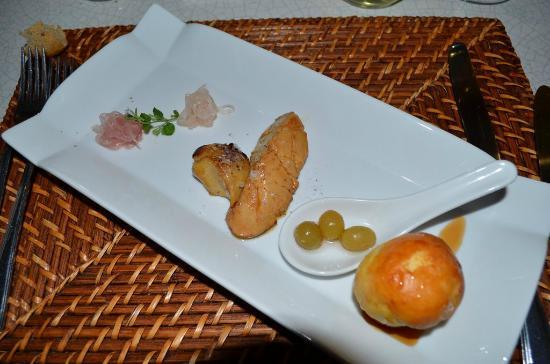 La Locanda del Capitano: foie gras