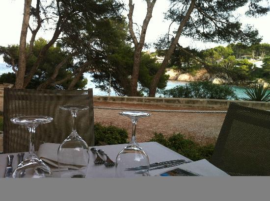 Iberostar Pinos Park: Vue de la terrasse de la salle à manger
