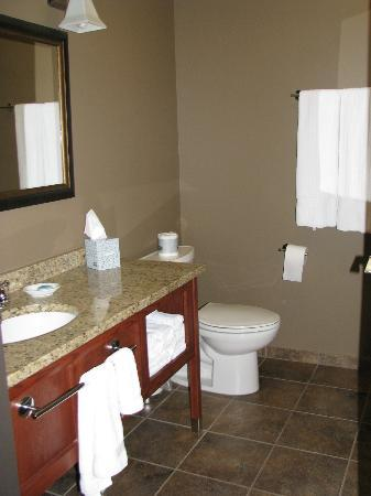 Timberlake Lodge Hotel: Clean and elegant bathroom