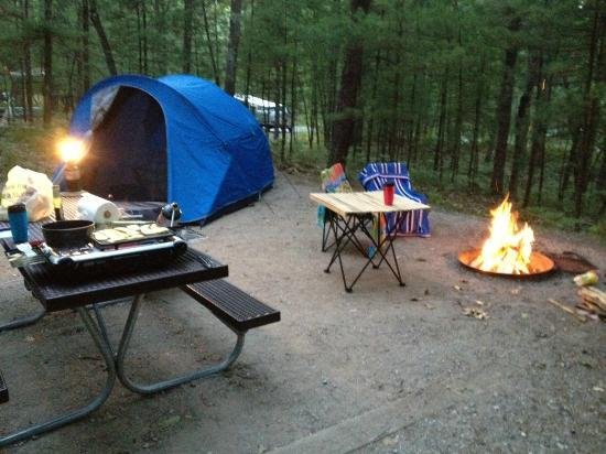 Platte River Campground: Campsite