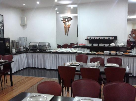 Hotel Residence Istanbul : sala colazione