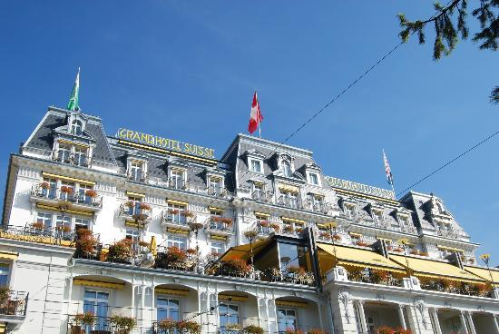 Grand Hotel Suisse Majestic: The hotel