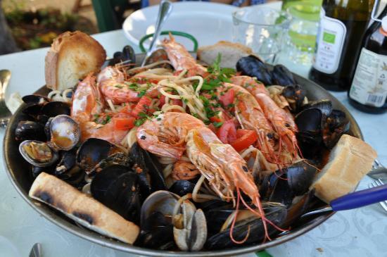 Lesa, อิตาลี: La Pentolaccia -menu item