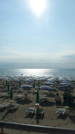 Hotel Rosapineta: il mare dalla spiaggia