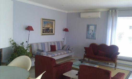 Villa Calanco: Salon 