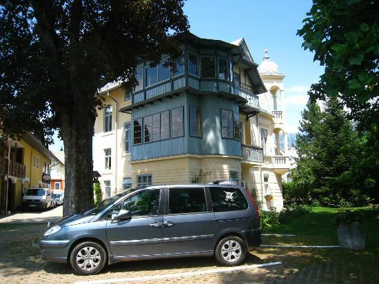 Vila Ana: Côté jardin.