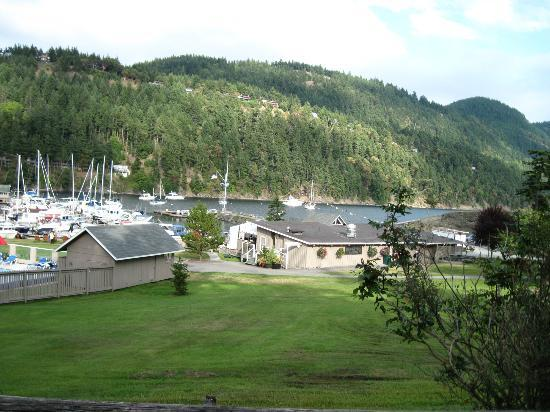 Orcas Suites at Rosario: View of Harbor to the East