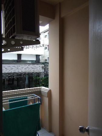 People Place (1st Building): Small Balcony