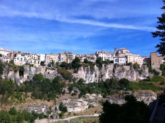 Parador de Cuenca: vue de la chambre