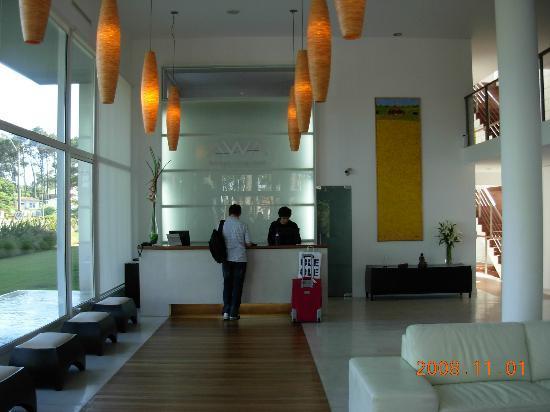 Awa Boutique and Design Hotel : Recepção