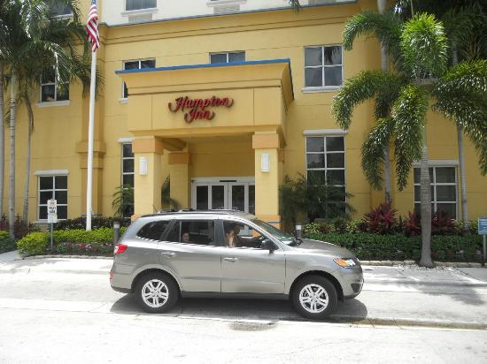 Hampton Inn Ft. Lauderdale /Downtown Las Olas Area, FL.: Fachada do hotel
