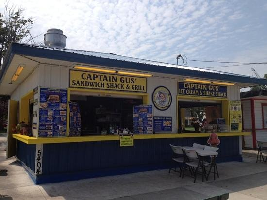 Captain Gus' Sandwich Shack & Grill: captain gus' sandwich shack and grill