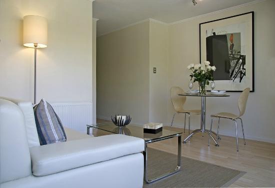 Heidelberg Haus Apart Hotel: Living Comedor