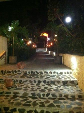 Poolside Bistro : Entrance to Bistro at Byblos Hotel