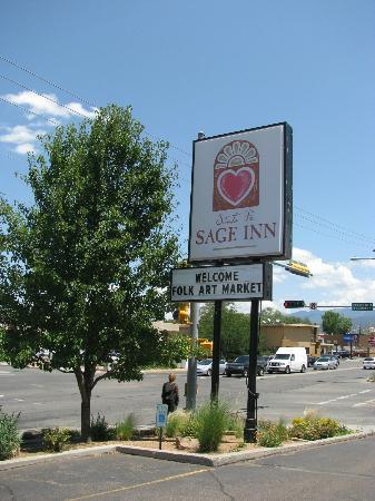 Santa Fe Sage Inn: welcome