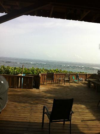 Villa Tropical Oceanfront Apartments on Shacks Beach: View from BL Room