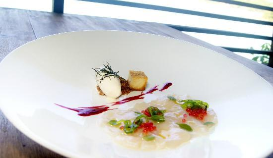 "Dining on the Rocks: Sept-Oct Special Menu ""1sec Scallop Blast"""