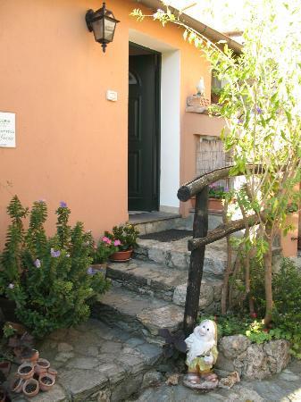 Agriturismo Beppe e Lucia: l'entrata della nostra camera