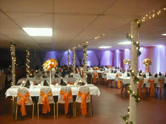 St. Croix Inn: Banquet Room - easily decorated for any occasion!