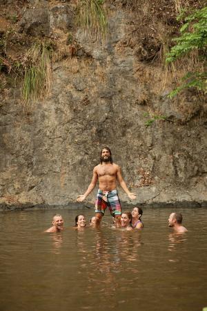 Costa Rica Yoga Spa: waterfall tour