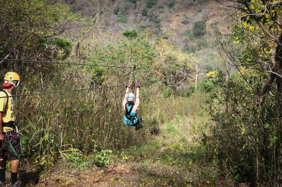 Costa Rica Yoga Spa: Zipline tour